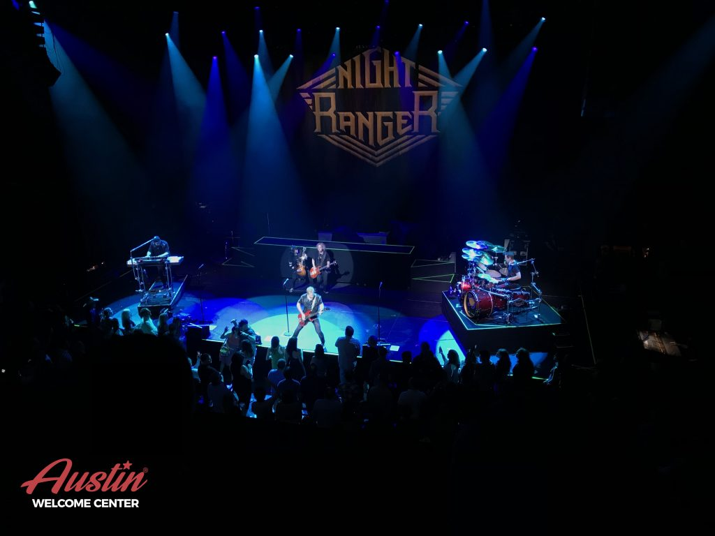 Night Ranger in concert at ACL Live, Austin, Texas
